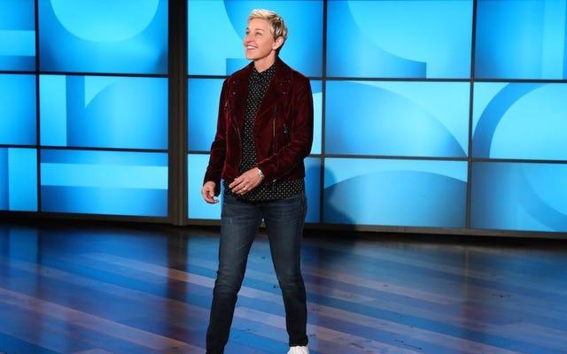 """Ellen DeGeneres, Eric Trump'ın """"derin devlet"""" suçlamasını, herhangi bir derin devlet üyesinin yapacağı gibi reddediyor"""