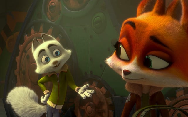 Jeremy Renner canta in Arctic Dogs, il film per bambini paint-by-numbers