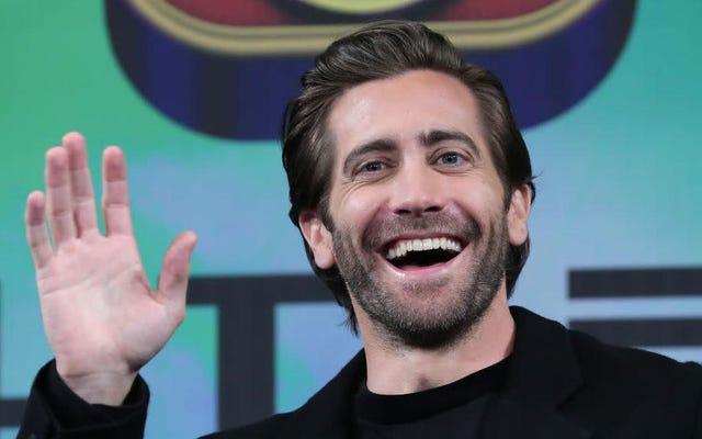 スパイダーマン:ファーフロムホームのプロモーションツアーは、ジェイクギレンホールの長い文化的瞬間になりつつあります