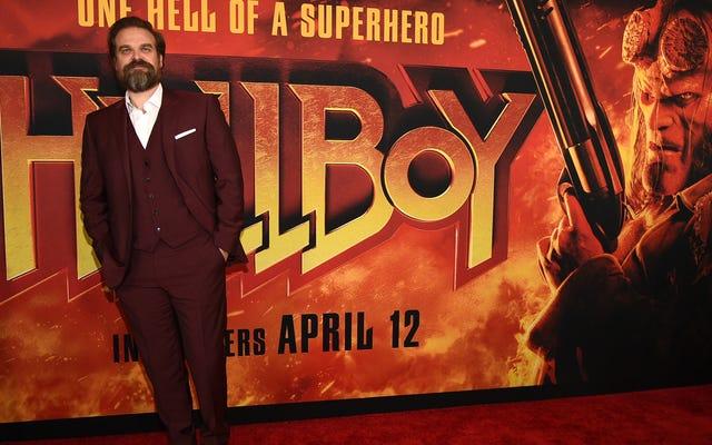 """हेलबॉय के डेविड हार्बर कहते हैं, """"मार्वल सामान"""" ने अन्य कॉमिक बुक फिल्मों के लिए हमें खराब कर दिया है"""
