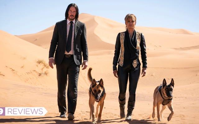 Keanu Reeves mantiene el ritmo intenso en John Wick: Capítulo 3 — Parabellum