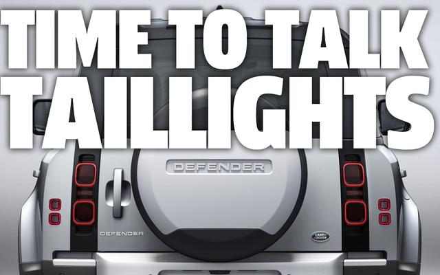 Discutons des nouveaux feux arrière sauvages du Land Rover Defender 2020