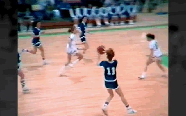 Doris Burke niszczyła gówno w licealnej koszykówce