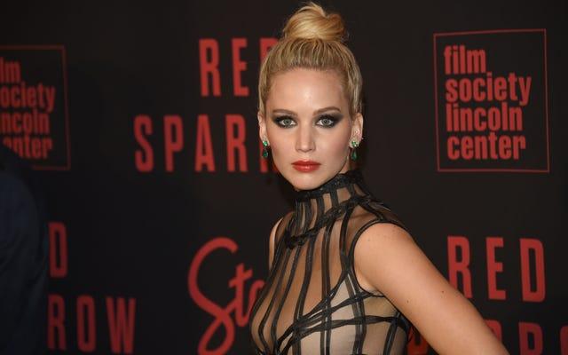 Jennifer Lawrence'ın 3 Dakika Sonra Hayalet İpinden Vazgeçmek İçin Sebepleri Var
