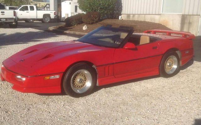 18.500 $ 'a, Bu 1987 Callaway Corvette Sizi Uçurur mu?