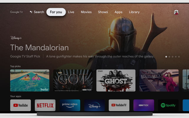 Google TVの最新機能は、より良い推奨事項を提案するためのトレーニングに役立ちます