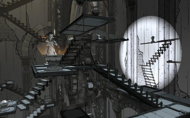 ゴシックパズルゲームアイリスフォールは光と影で美しく遊ぶ