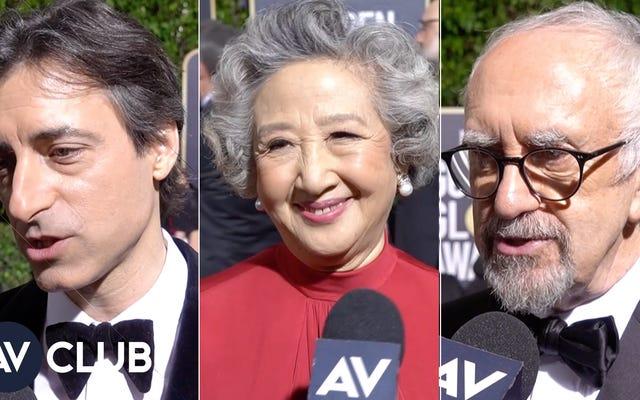 हमने गोल्डन ग्लोब्स के सितारों से पूछा: आपने कौन सी फिल्म देखी है?