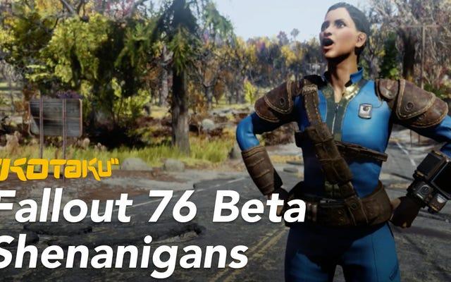 Мои злоключения в багги Fallout 76, Bizarre Beta