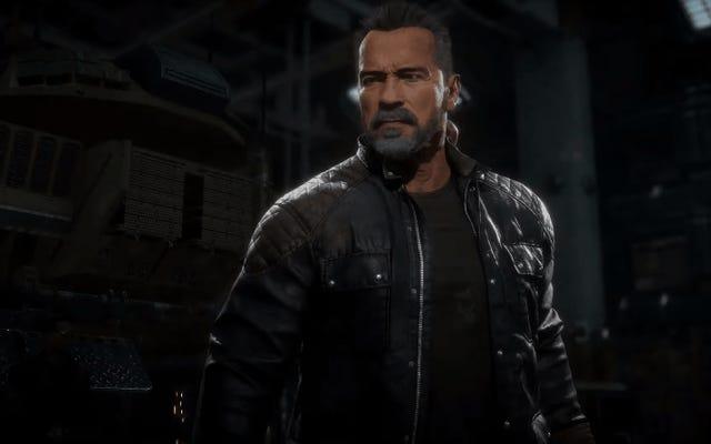 Zobacz, jak Arnold Schwarzenegger po prostu zawalił grupę kolesi w Mortal Kombat 11