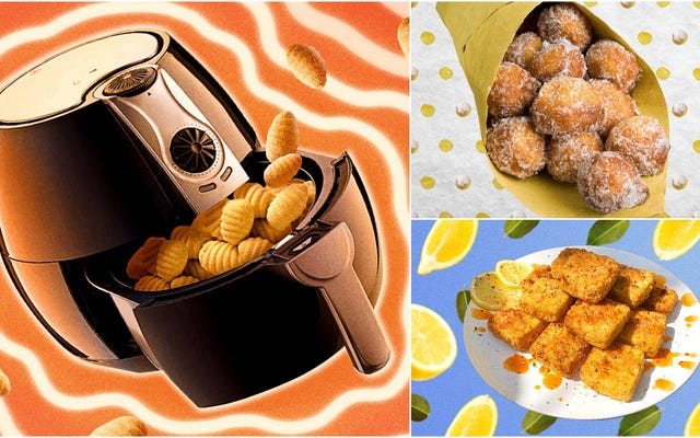 Gonna fry now: le migliori ricette di friggitrici ad aria da asporto