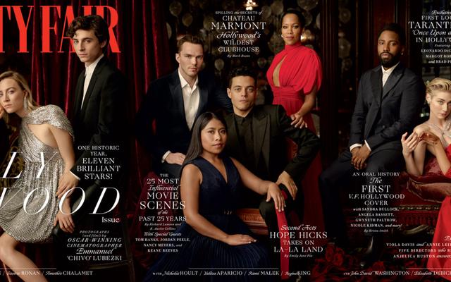 เป็นการเฉลิมฉลอง: Vanity Fair เปิดตัวฉบับฮอลลีวูดประจำปีครั้งที่ 25 ที่มีความหลากหลายแตกต่างกันไป