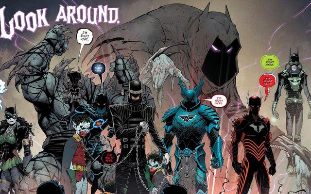 Вот откуда родом каждая из Dark Nights: Metal's Evil Batmen