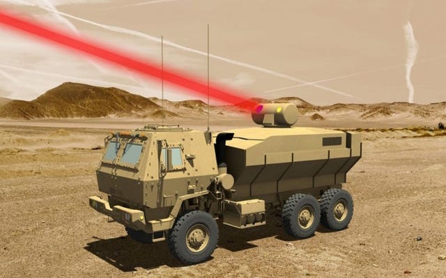 米軍はまもなくレーザー兵器を使用してドローンを撃墜できるようになります