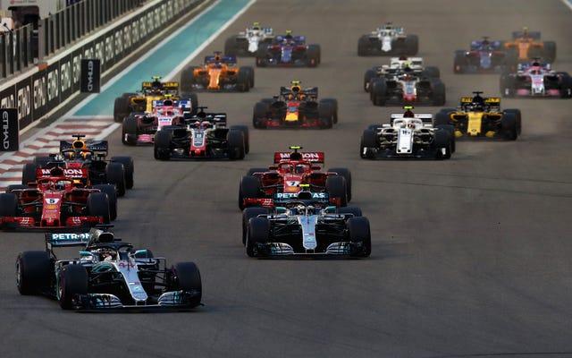 F1は「追い越しシミュレーション」を使用して、より多くのパスでより良いレーストラックを設計しています