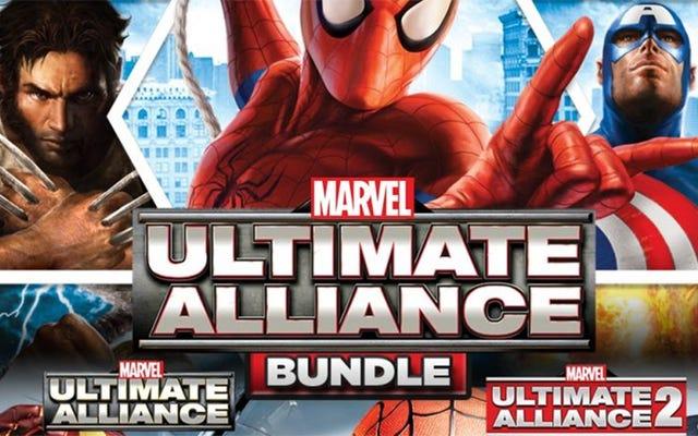 火曜日にPS4、Xbox One、PCに登場するMarvel Ultimate Alliance