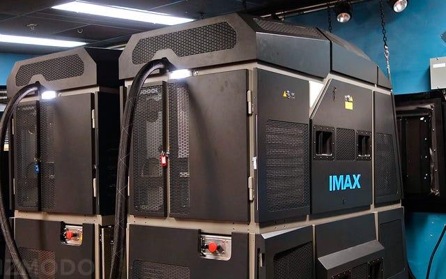Los nuevos proyectores láser de IMAX me hacen desear vivir en un cine