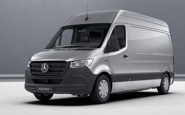 Voici pourquoi la nouvelle fourgonnette électrique de 50000 £ de Mercedes-Benz a toujours moins de 100 milles d'autonomie