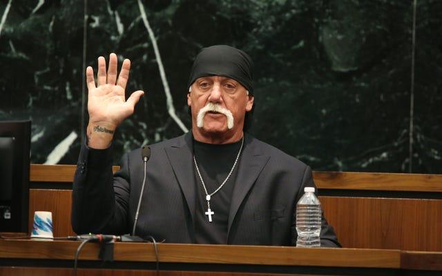 Hulk Hogan quản lý để đồng thời ca ngợi và đạo văn Chúa trong khi cân nhắc COVID-19