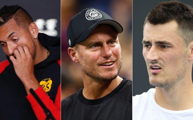 Praktycznie wszyscy australijscy tenisowcy zostali wciągnięci do wołowiny Bernarda Tomica