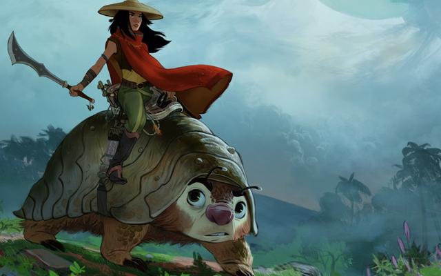 スターウォーズのケリーマリートランは、ディズニーの次のアニメーションエピック、ラヤと最後のドラゴンのスターになります