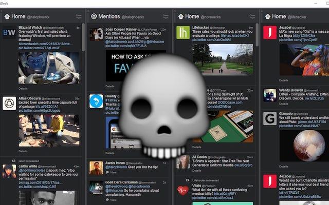 TweetDeck dành cho Windows đã chính thức chết