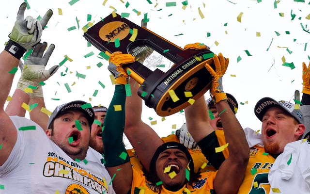 ノースダコタ州立大学はあなたの真のカレッジフットボール全国チャンピオンです