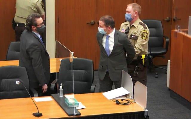 जॉर्ज फ्लॉयड की हत्या में सभी 3 काउंट्स के जूरी ने डेरेक चाउविन दोषी पाया
