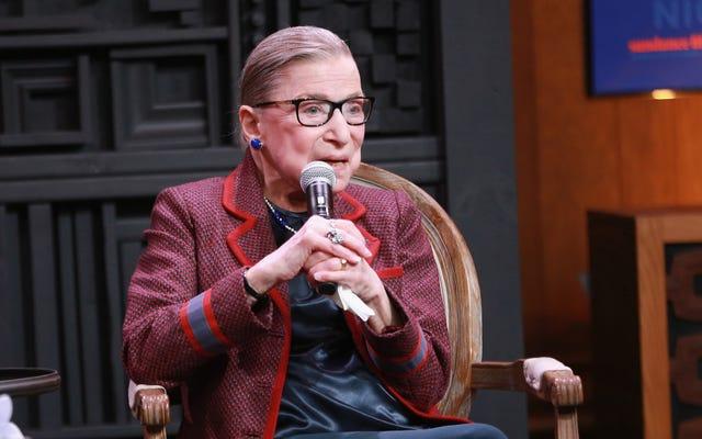 #MeToo पर रूथ बैडर गिन्सबर्ग: 'इट्स अबाउट टाइम'