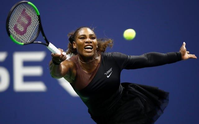 Sei stato servito: Serena William's Ladylike - e vincente! - US Open Look Speaks Volumes