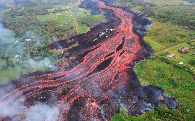 Lava gunung berapi Kilauea sekarang mengancam pembangkit listrik utama Hawaii