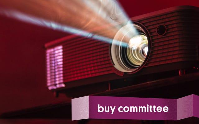 Comité d'achat: mon patron devrait-il acheter un projecteur?