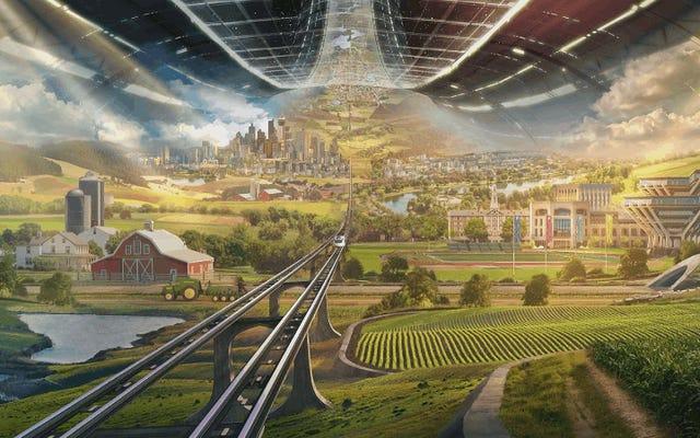 ジェフ・ベゾスが人類に宇宙移民が未来であると納得させると言ったすべてがここにあります