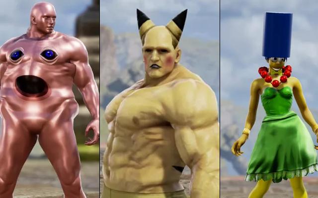 シンプソンズ、ペニス、サノス-これらはソウルキャリバーVIの最も奇妙なキャラクター作品です