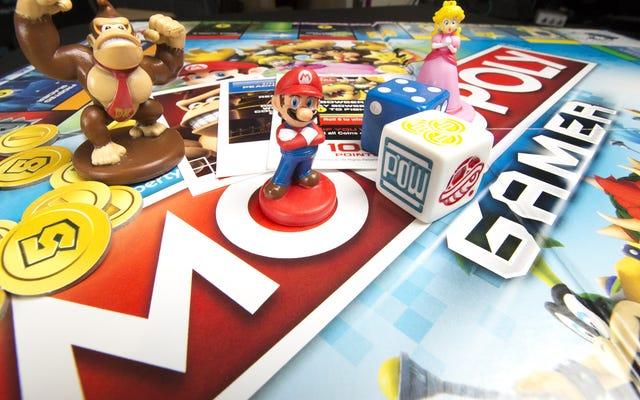 У геймера-монополиста на тему Марио есть бонусы и битвы с боссами
