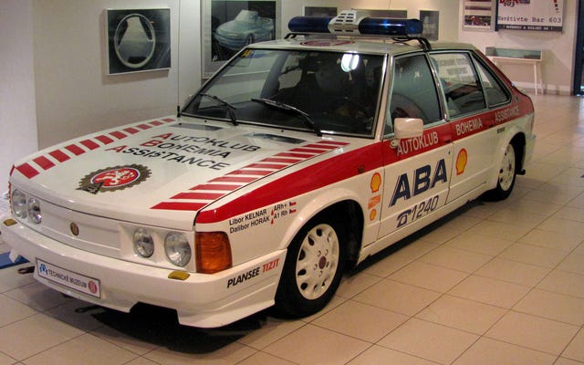 Il vero vincitore del Gran Premio d'Ungheria 1986 è stato il Tatra T-623-R