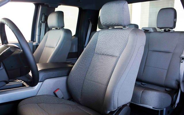 Kursi 'Kain' Ford F-150 2015 Sebenarnya Terbuat Dari Botol Daur Ulang