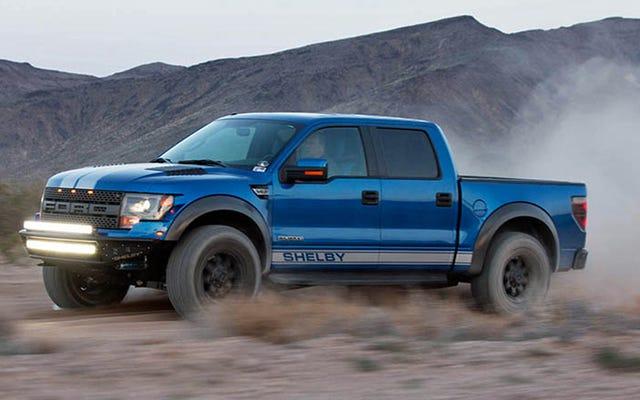 Shelby regala alla Ford Raptor 700 cavalli e strisce per $ 45.000