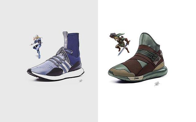 Adidas, faites ces baskets Zelda