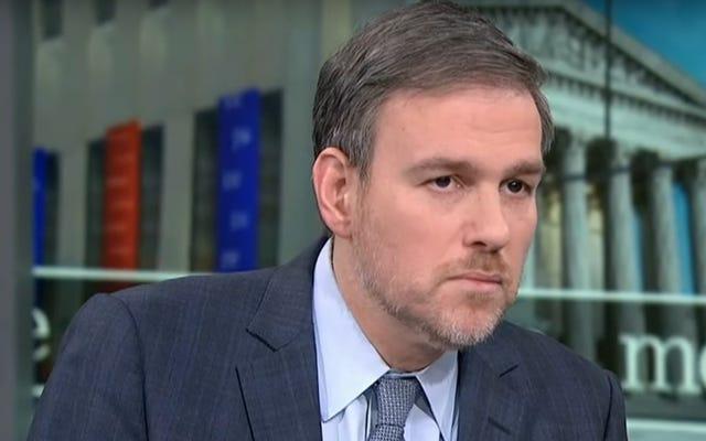 ニューヨークタイムズのブレットスティーブンスは彼のたわごとを失い、彼が「ナンキンムシ」と呼ばれているのでツイッターをやめます