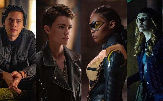 En gros, chaque émission CW vient d'être renouvelée pour une autre saison