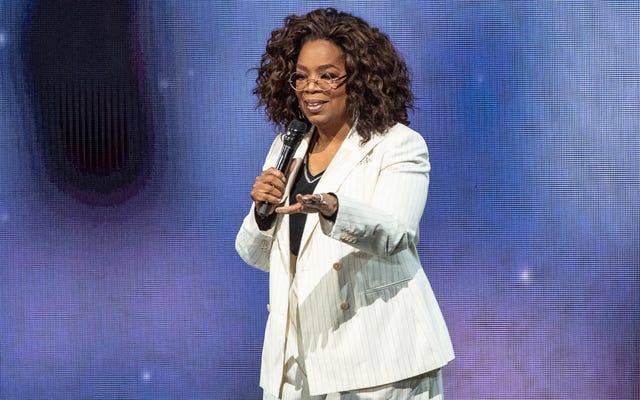 Oprah Membahas Kemitraan Dengan NashvillePemeliharaan untuk Memberikan Bantuan Makanan untuk 10.000 Keluarga