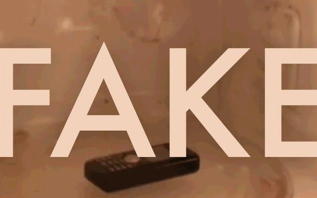 電子レンジでの電話のこのバイラルビデオは完全に偽物です
