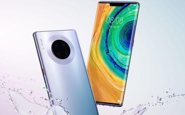 Вся линейка Huawei Mate 30 фильтруется за три дня до официального анонса.