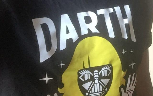 素晴らしい「ダースベッキー」Tシャツの入手方法、説明