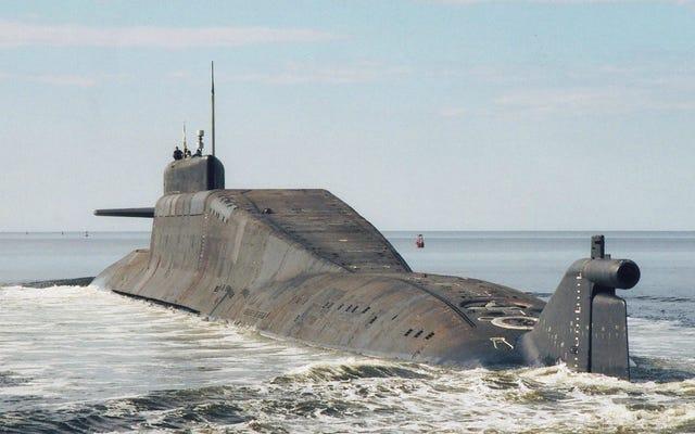 ロシアは失われた原子力ミサイルのために釣りに行く