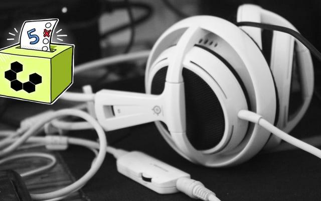 Pięć najlepszych zestawów słuchawkowych z dołączonymi mikrofonami