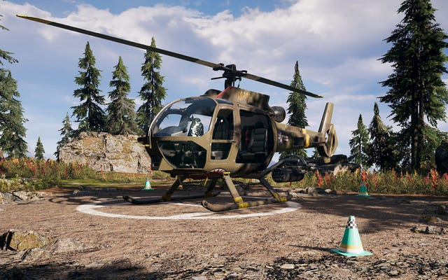 ファークライ5のヘリコプターは吸わない