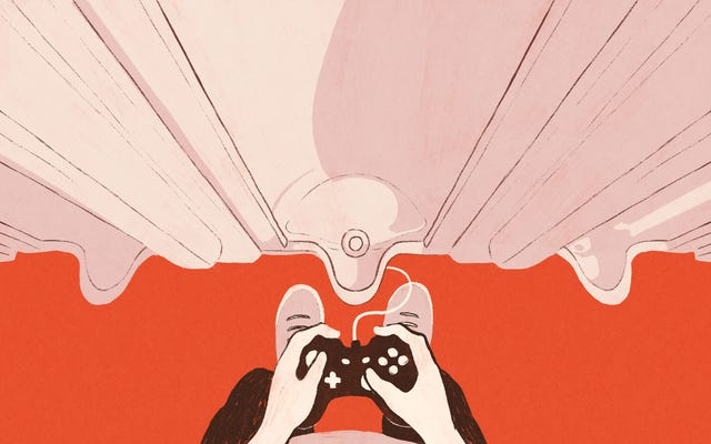 エロティックなビデオゲームは、プレイヤーがバスルームでセクシーになることを可能にします