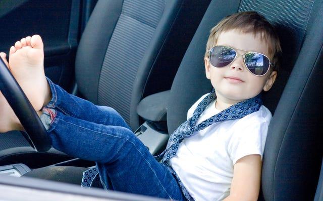เมื่อไรที่เด็ก ๆ สามารถนั่งที่เบาะหน้าของรถได้?